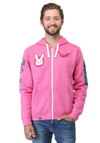Ultimate Overwatch D.VA Hooded Sweatshirt1
