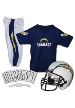 Chargers-NFL Deluxe Helmet/Uniform Set