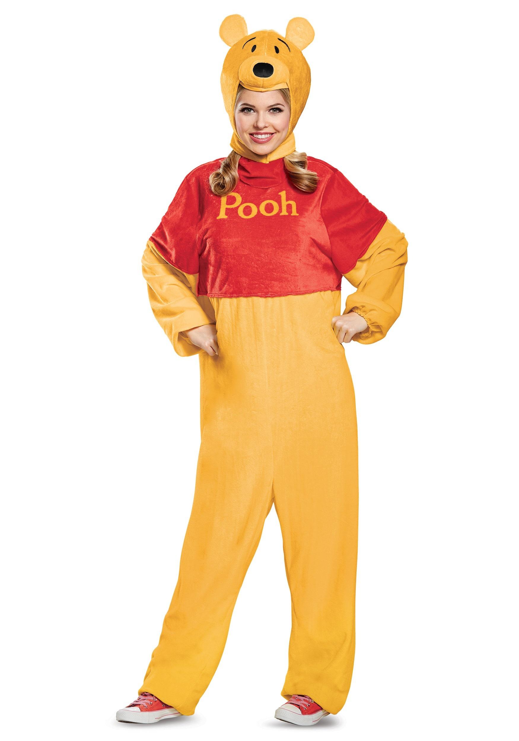 Winnie the Pooh Deluxe Adult Costume Winnie the Pooh Deluxe Adult Costume ...  sc 1 st  Halloween Costumes UK & Winnie the Pooh Deluxe Costume for Adults