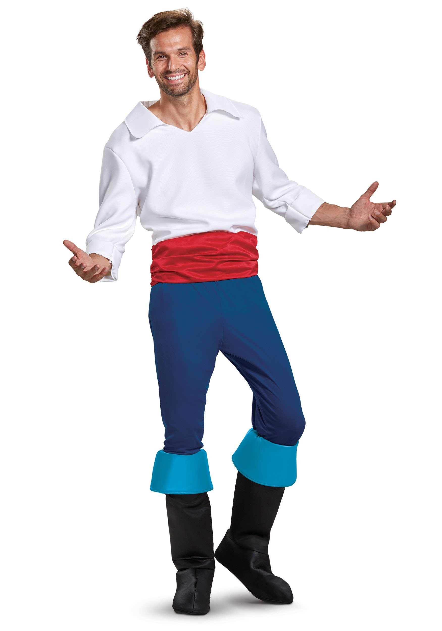 Prince Eric Deluxe Mens Costume  sc 1 st  Halloween Costumes UK & Prince Eric Deluxe Costume for Men