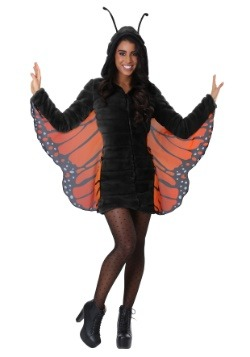 Women's Cozy Monarch Costume