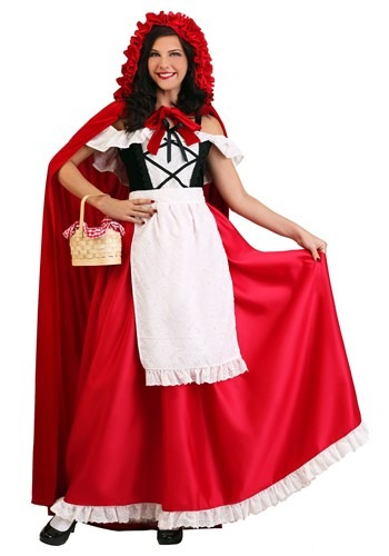 Women's Deluxe Red Riding Hood Costume