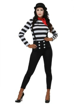 Women's Mime Costume