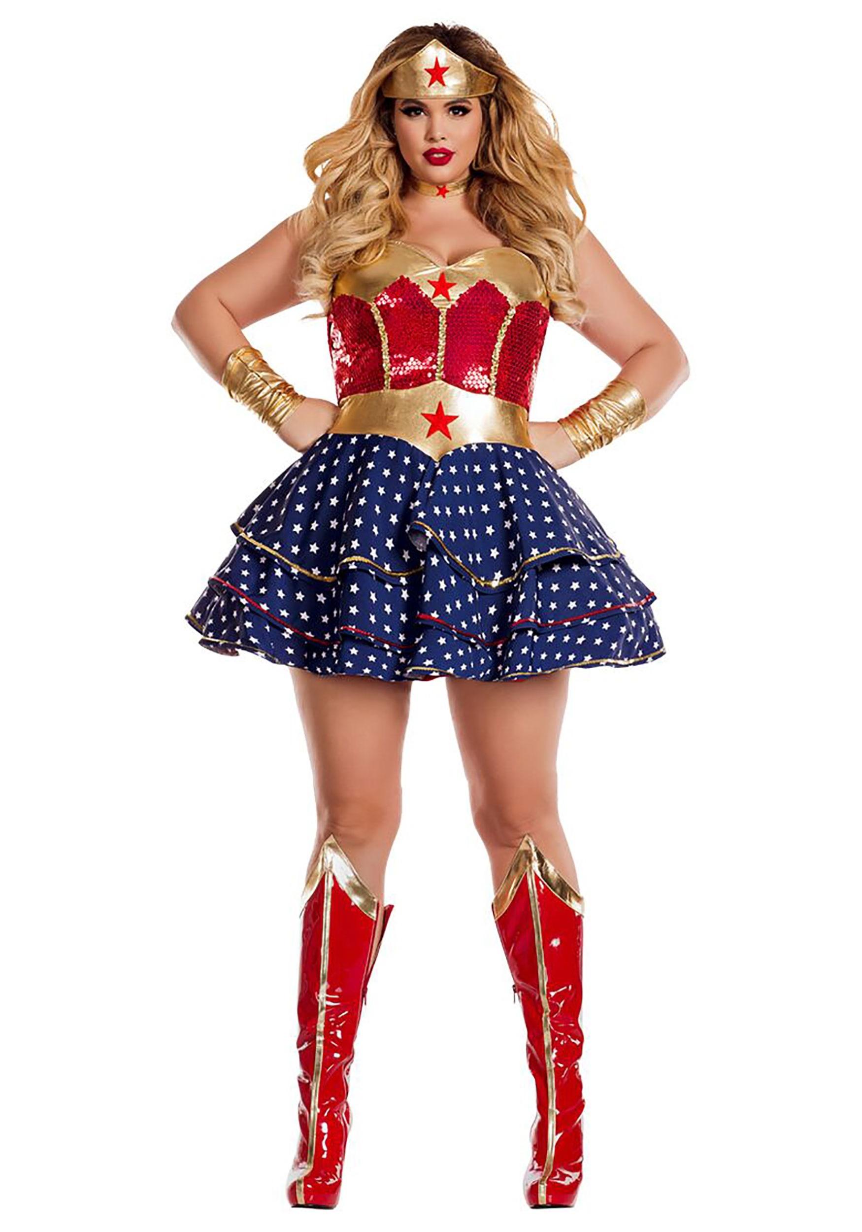 Wonderful Sweetheart Plus Size Fancy Dress Costume for Women