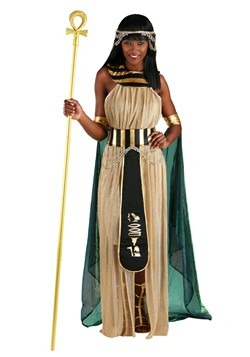 All Powerful Cleopatra Plus Size Womens Costume