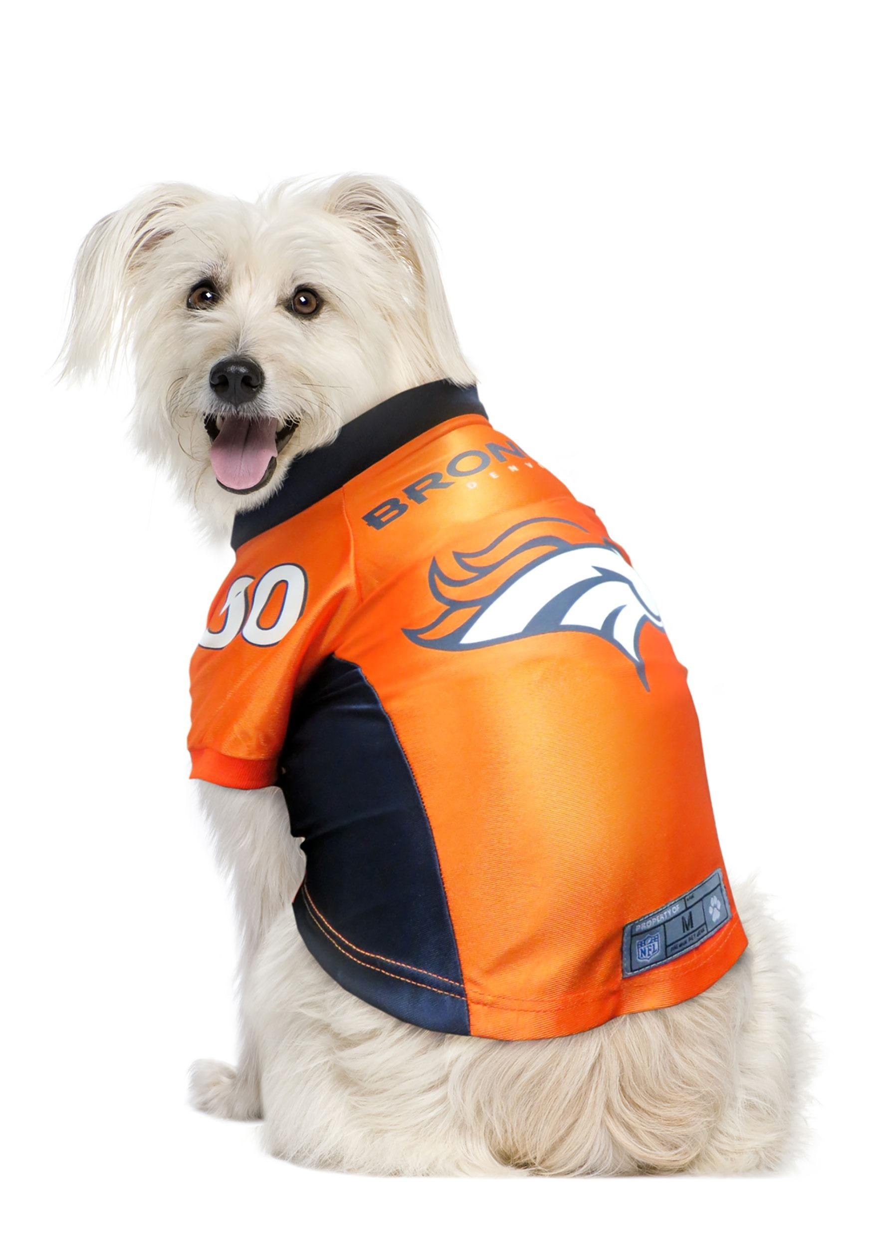 Denver Broncos NFL Premium Pet Jersey