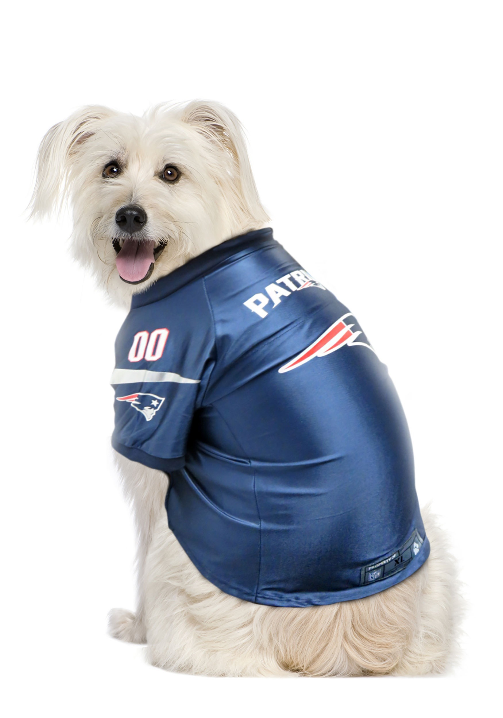 NFL New England Patriots Pet Premium Jersey