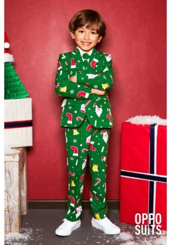 Boy's Santa Boss OppoSuit