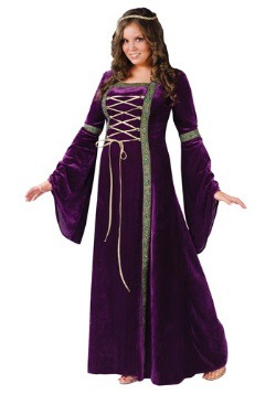 Plus Size Renaissance Lady Costume