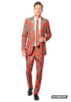 Mens Christmas Trees Suitmiester Suit
