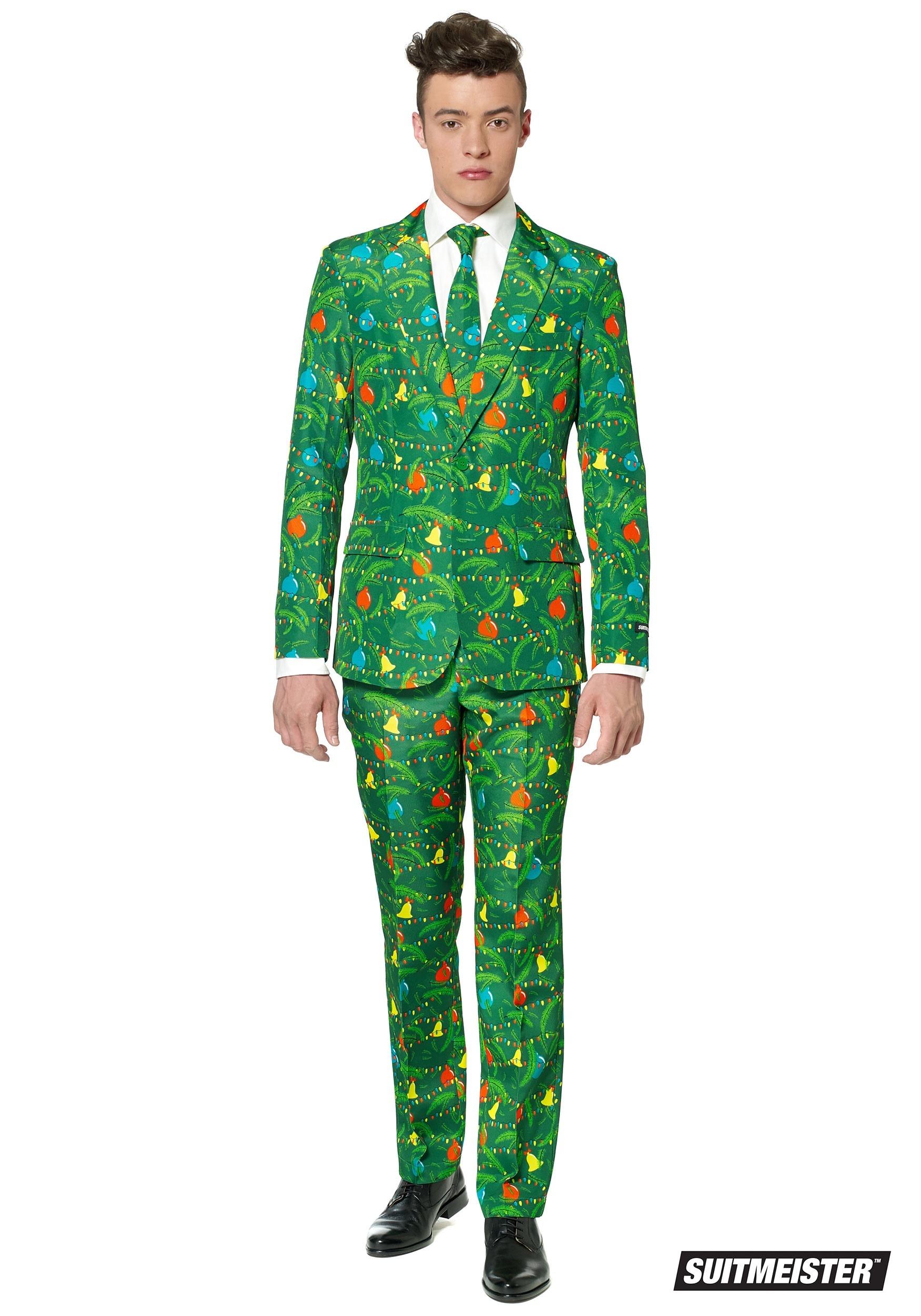 Christmas Tree Costume.Green Christmas Tree Men S Suitmeister Suit