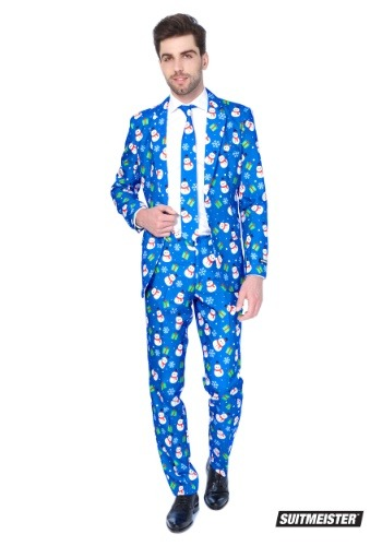 Blue Snowman Mens Suitmiester Suit