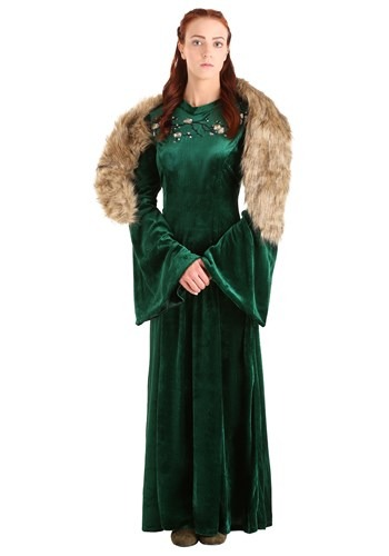 Women's Plus Size Wolf Princess Costume-update1