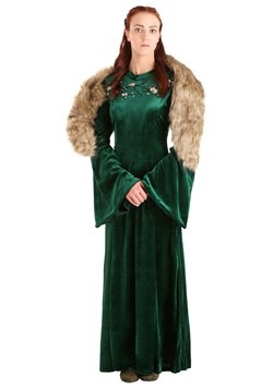 Women's Plus Size Wolf Princess Costume-update1