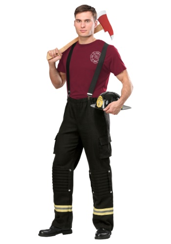 Fire Captain Plus Size Mens Costume