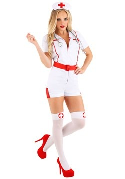 Women's Love Shot Nurse Costume 1