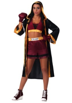 Women's Tough Boxer Costume
