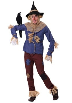 Adult Patchwork Scarecrow Costume