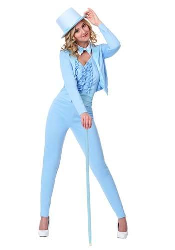 Adult Female Blue Tuxedo