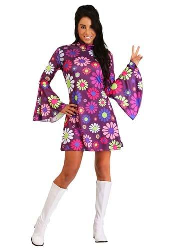 Adult Groovy Flower Power Costume