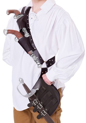 Adult Pirate's Shoulder Holster Update Main