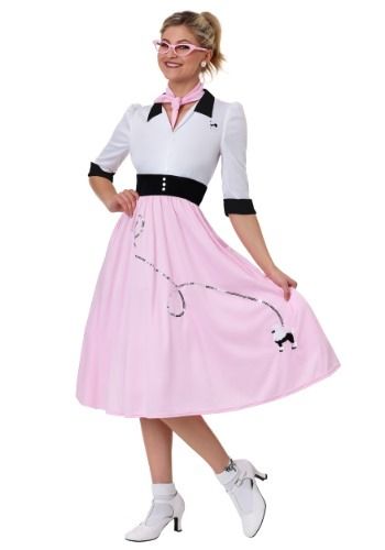 Women's Sock Hop Sweetheart Costume