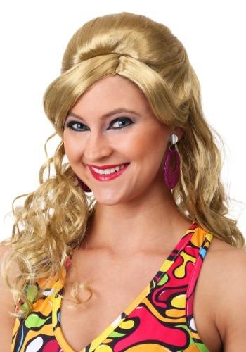 60s Gogo Mod Wig-Blonde