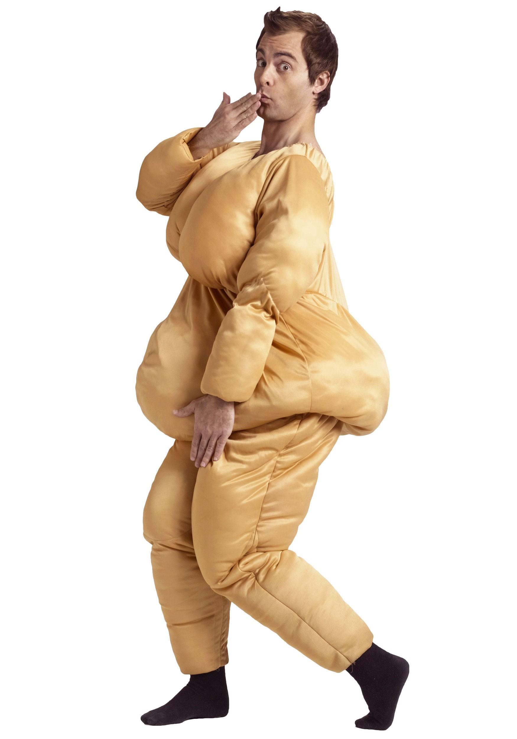 Adult Fat Suit Costume  sc 1 st  Halloween Costumes UK & Dodgeball Costumes