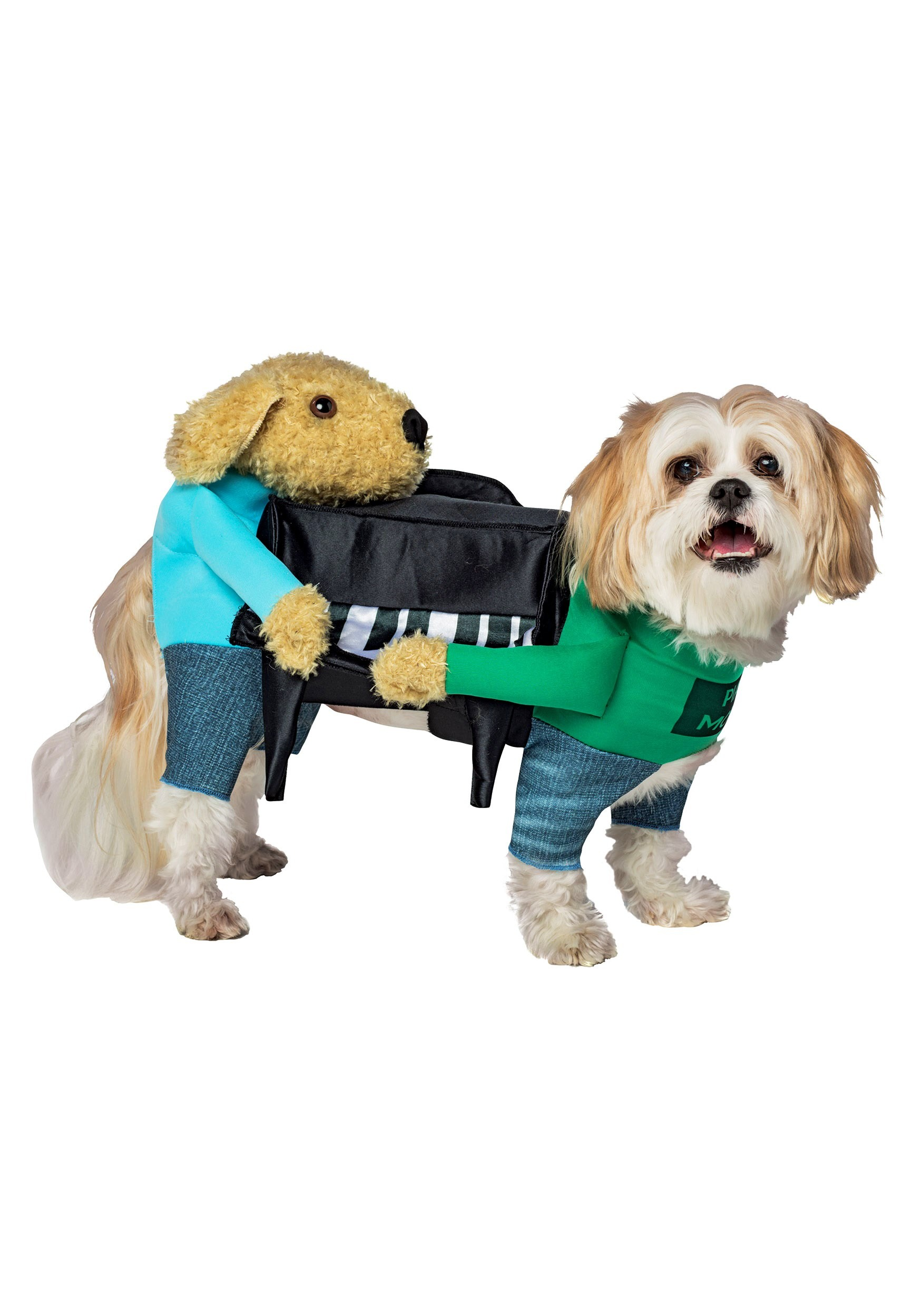 INOpets.com Anything for Pets Parents & Their Pets Dogs Carrying Piano Fancy Dress Costume for Pets