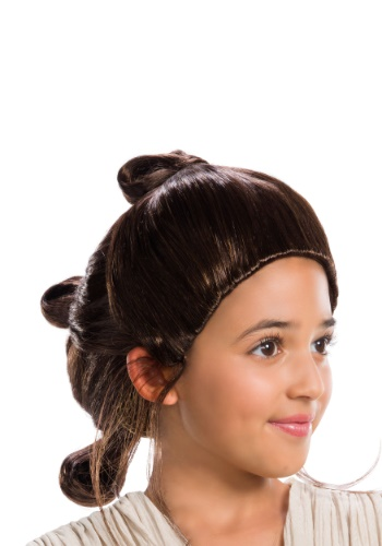 Star Wars Rey Kids Wig
