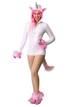 Women's Sequined Unicorn Costume