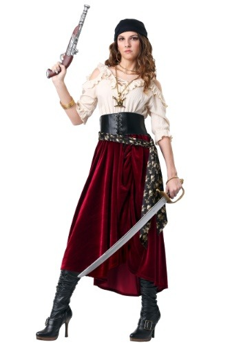 Women's Roving Buccaneer Costume