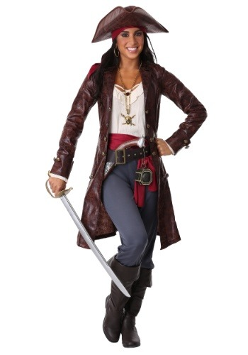 Women's Pretty Pirate Captain Costume