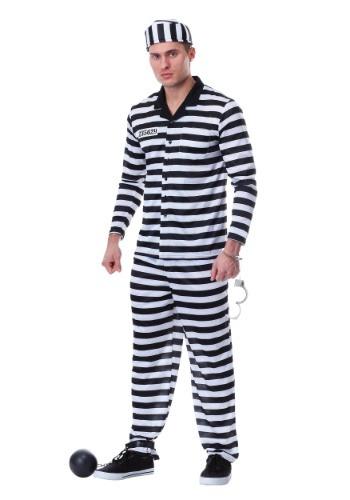 Men's Plus Size Jailbird Costume