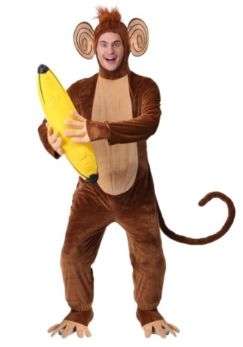 Adult Plus Size Funky Monkey Costume