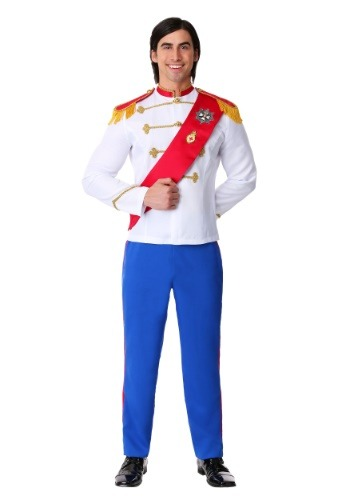 Men's Plus Size Charming Prince Costume