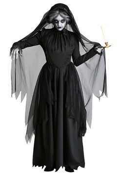 Lady in Black Women's Ghost Costume