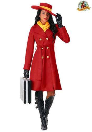 Women's Carmen Sandiego Costume