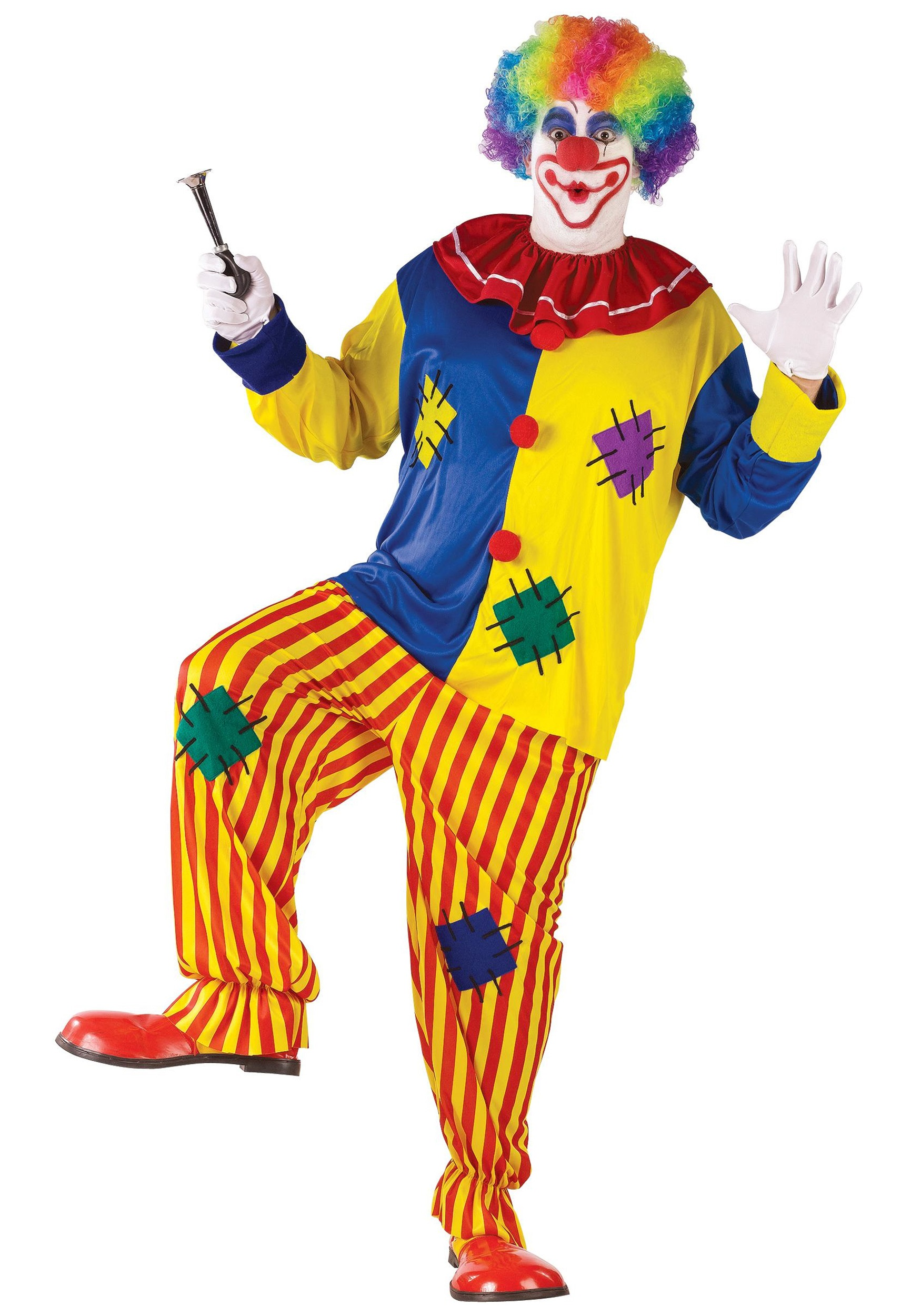 sc 1 st  Halloween Costumes UK & Big Top Clown Costume