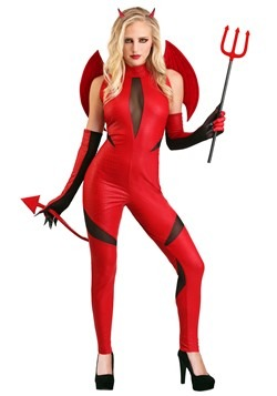 Adult Demon Woman Costume1