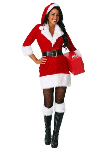 Women's Plus Secret Santa Costume