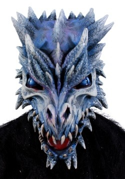 Ice Dragon Adult Mask