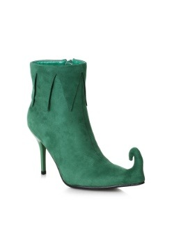 Women's Green Elf Boots