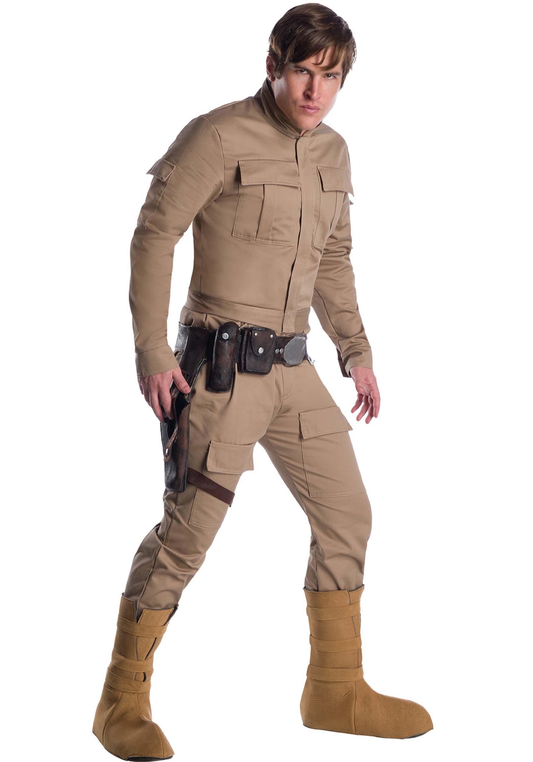 how to make a luke skywalker dagobah costume