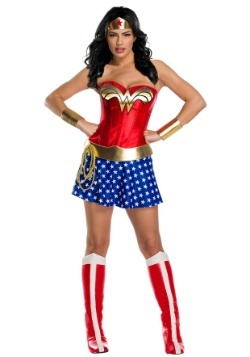 Women's Classic Premium Wonder Woman Costume
