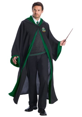 Deluxe Adult Slytherin Student Costume