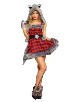 Women's Big Bad Wolf Costume
