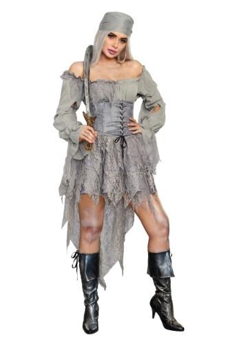 Women's Ghost Pirate Costume