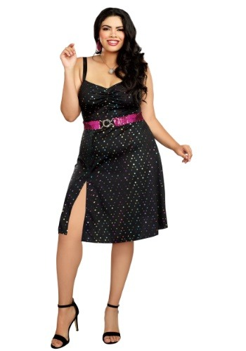 Disco Diva Plus Size Women's Costume