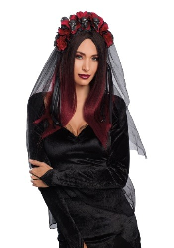 Women's Gothic Rose Headpiece